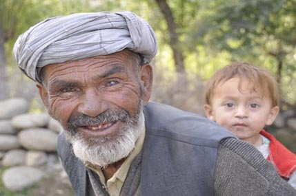 Afghan grandfather