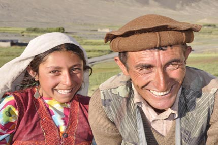 Wakhi father and daughter