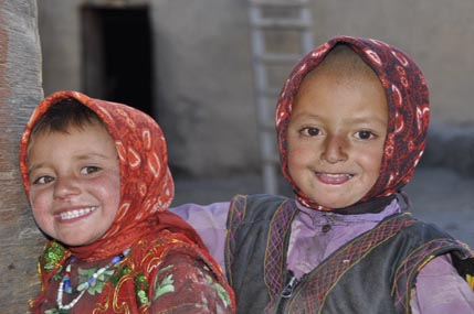 Wakhi children